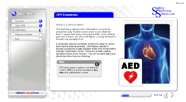 cpr and manual handling course